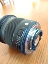 Lente Sigma 17-70mm 2.8-4 Dc Macro Os Hsm Nikon