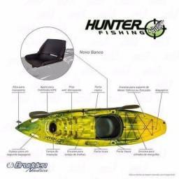 Caiaque Hunter fishing, parcelamos de 6 X sem/ juros a pronta entrega