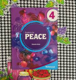 Livro - Students for Peace 4 + CD