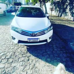 Vendo Corolla 2016  GLi completo, Branco pérola, banco em couro.