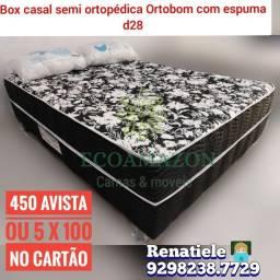 Título do anúncio: Cama Casal Ortobom // espuma // entrega gratis