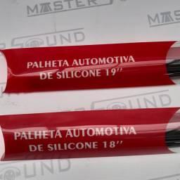 """Palheta de silicone universal 18""""e 19"""". Nova. Colocada."""
