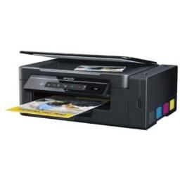 Título do anúncio: Impressora Multifuncional Epson Tanque De Tinta L395 Wi-fi