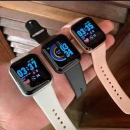 Relógio smartwatch inteligente D20 promoção
