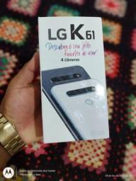 Vendo ou troco LG k61 128g  lacrado