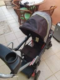 Título do anúncio: Carrinho de bebê para 2 crianças
