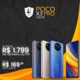 Celular Poco X3 PRO 128GB - Novo Lacrado c/ garantia