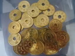 Moeda Japão Bronze da Sorte para colecionadores