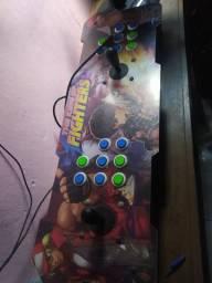Bancada arcade com jogos