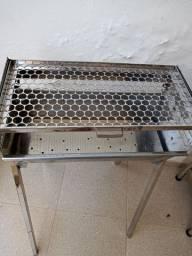 Churrasqueira aço Inox