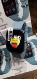 Smartwatch p8 bluetooth inteligente na promoção