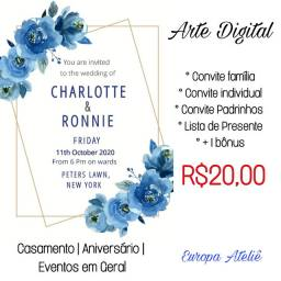 Arte Digital Convites