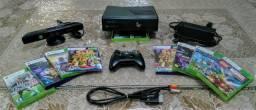 Xbox 360/Kinect + 8 jogos
