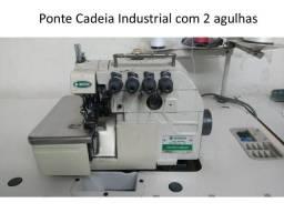 Máquina de Costura Industrial Ponte Cadeia em perfeito estado