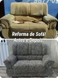 Reforma de Sofá com qualidade e agilidade