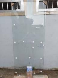 Porta de vidro temperado de 10 m m nova