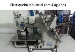 Máquina de Costura Industrial Elastiqueira em perfeito estado seminova