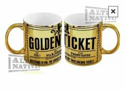 Caneca Dourada - Golden Ticket