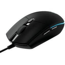 Mouse Logitech Gamer G203 Prodigy RGB - Loja Fgtec Informática