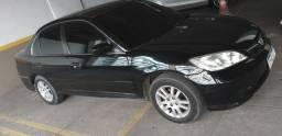 Honda Civic automático com gnv - 2005