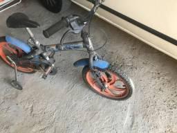 Bicicleta infantil Hotweels Caloi