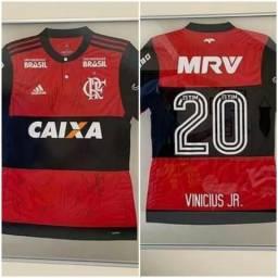 Camisa do Flamengo 2017 adidas com patrocínio Caixa
