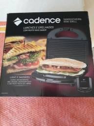 Sanduicheira mini grill