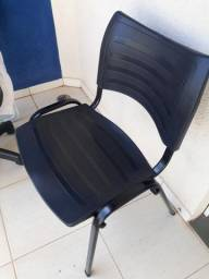 Cadeira de escritório preta