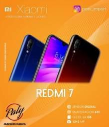 Redmi 7 64GB Xiaomi Versão Global Pronta Entrega - Paty Importados