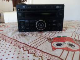 Rádio do Nissan Sentra 2012