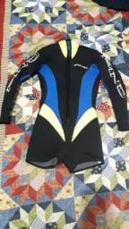 Roupa de mergulho feminina Pino 5mm