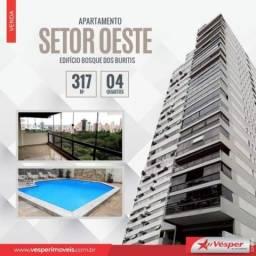 Título do anúncio: Apartamento à venda com 4 dormitórios em Oeste, Goiânia cod:APV2849
