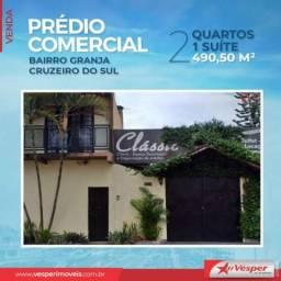 Prédio inteiro à venda com 2 dormitórios em Granja cruzeiro do sul, Goiânia cod:PD2169