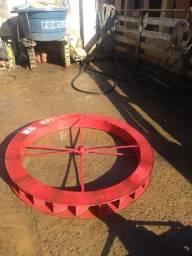 Roda dagua rochefer ms 42 com roda de 1,10 cm