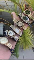 Basta você escolher o seu relógio. Aceitamos todos os cartões.