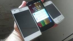 3 celulares pra peças