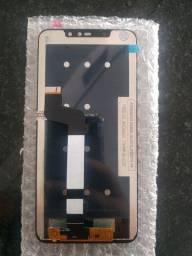 Tela celular not6 pró cor preta Nova.