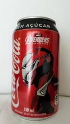 Lata fechada Avengers Coca-Cola ( Homem de ferro)