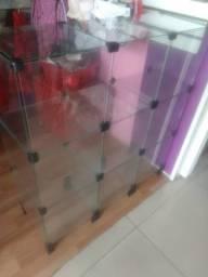 Balcão de vidro para loja