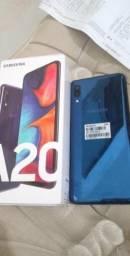 Vendo celular A20 com garantia de 1 ano