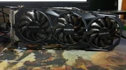 Placa de Vídeo Nvidia GTX 980 Ti Windforce 3x - 6 GB