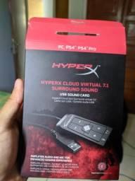 Placa de som Hyper x nova