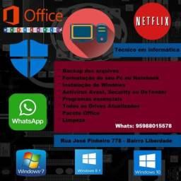 Assistencia em Informática - Formatação em Promoção