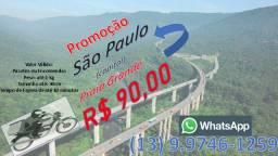 Motoboy Motofrete Baixa Santista e Capital na Promoção saida Praia Grande