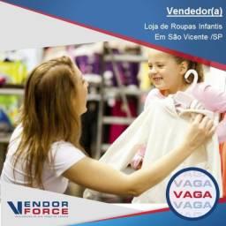 Vendedor(a) Loja Infantil Shopping
