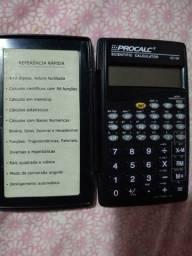 Calculadora Cientifica Procalc SC128 10 Digitos 56 Funcoes