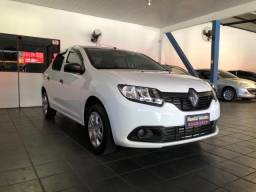 Renault Logan Authentique 1.0 Flex 2018 Completo