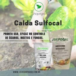 Calda sulfocálcica sulfocal 2kg pronto uso