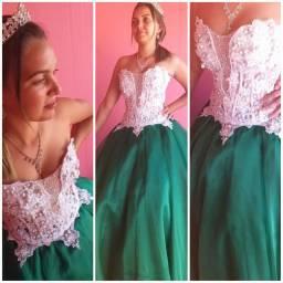 Vestido debutante Tam P/M