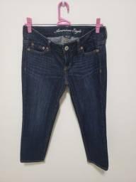 Calça jeans Capri importada